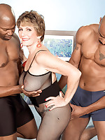 60 Plus MILFs - Two Big, Black Cocks For Bea Cummins! - Bea Cummins (46 Photos)