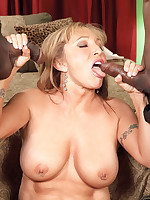 60 Plus MILFs - Luna's Double Dark Chocolate Birthday Surprise - Luna Azul (46 Photos)