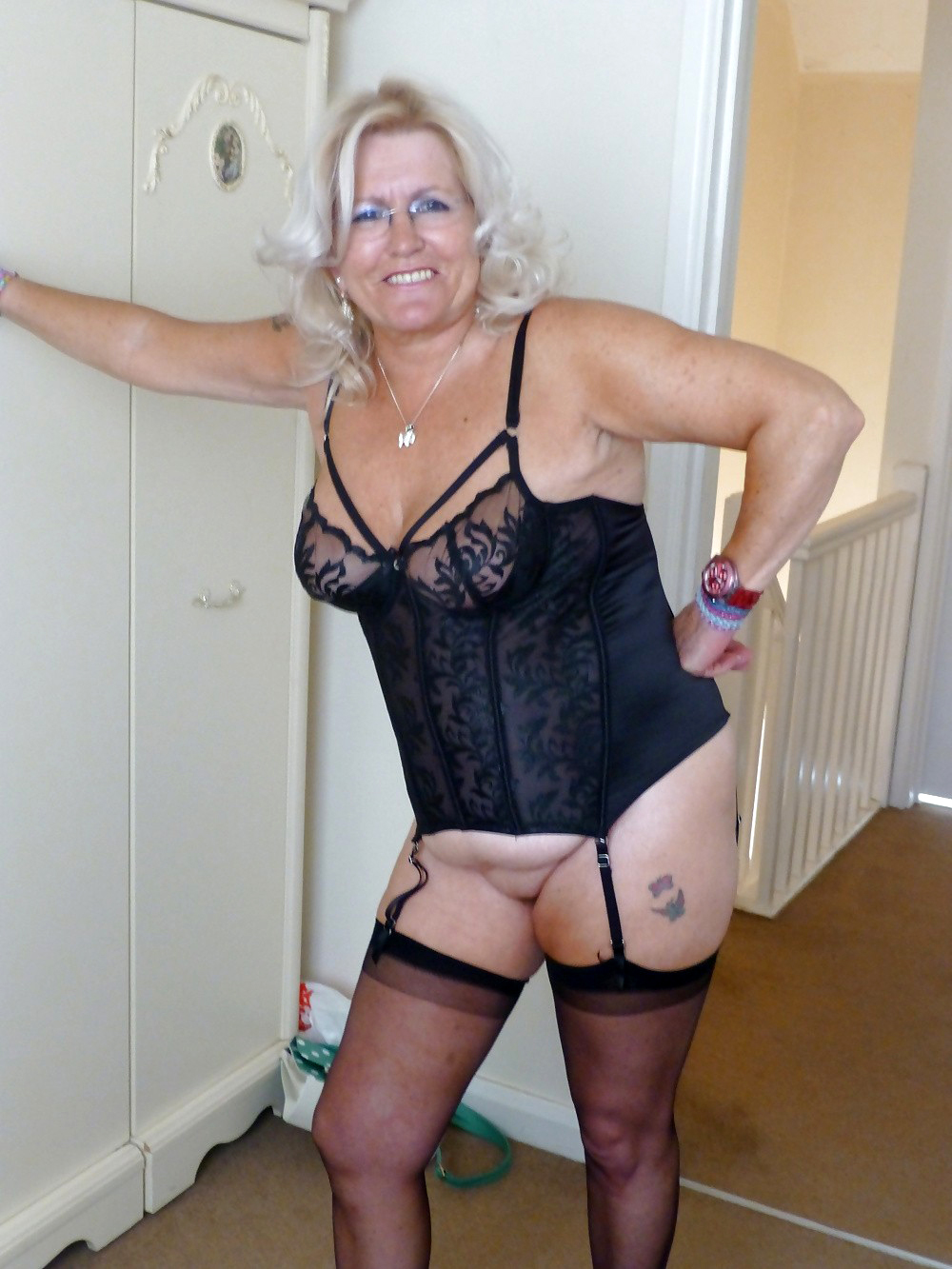 Mature glamour stocking videos